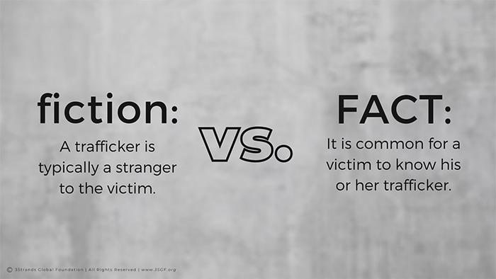 Human Trafficking Fact vs. Fiction 1