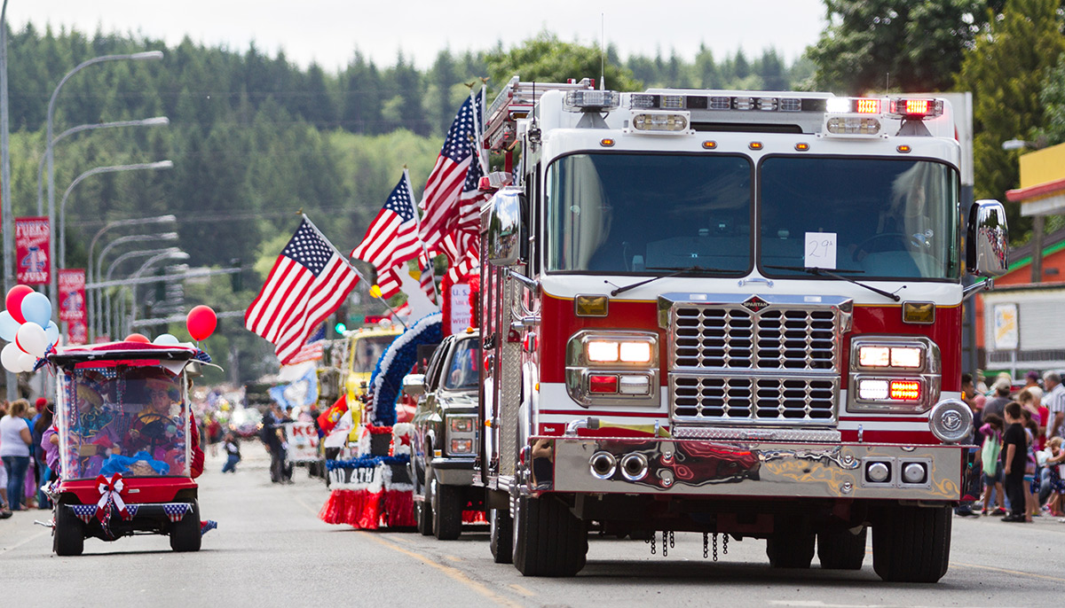 4th of July Fire Truck