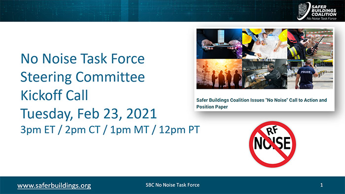 Update: SBC No Noise Task Force