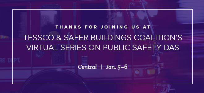 Relive the Tessco-Safer Buildings Coalition Event Series
