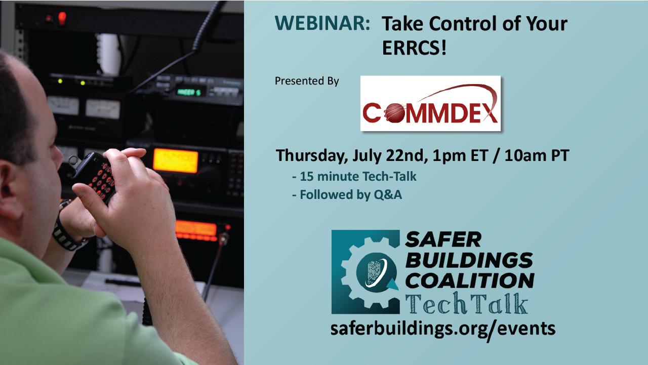 Tech Talk: Take Control of Your ERRCS!