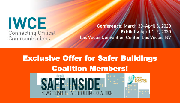 Save 20% on IWCE Registration with Safer Buildings Coalition