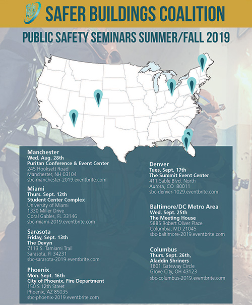 Safer Buildings Coalition Fall 2019 Seminars
